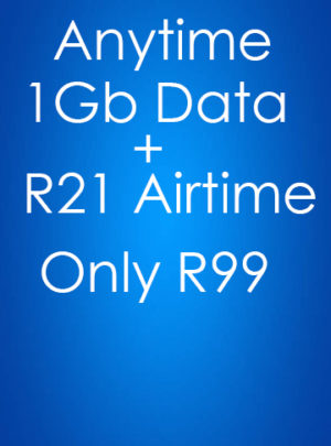 1GB Data + R21 Airtime